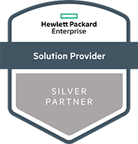 HPE Silver solution provider badge