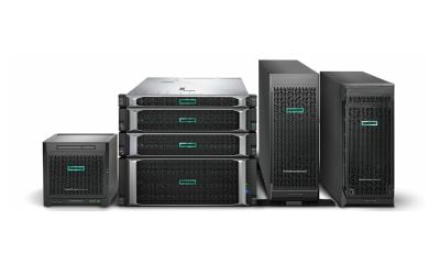 HPE's Industry leading line of sevrers.