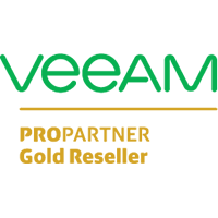 Veeam Gold Reseller badge