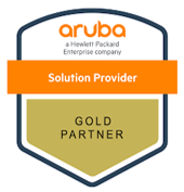 Aruba Networks Gold Partner Badge